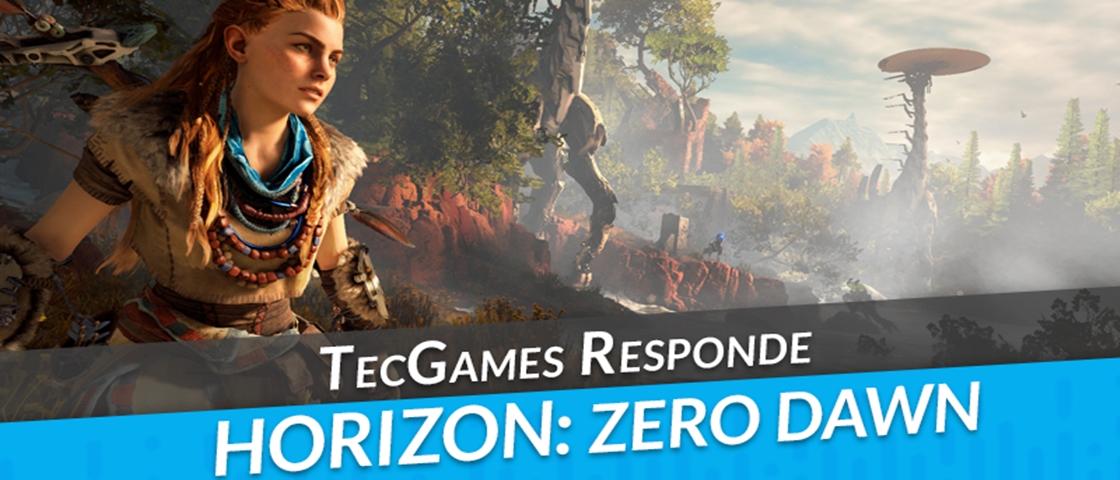 Horizon Zero Dawn: tamanho do mundo, armas, atividades? Faça sua pergunta!