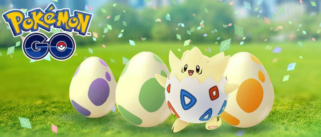 Pokémon GO terá 'festival de ovos' e XP dobrada até 20 de abril