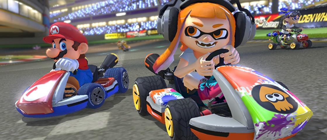 Nintendo disponibiliza bundle de Switch com Mario Kart 8 Deluxe