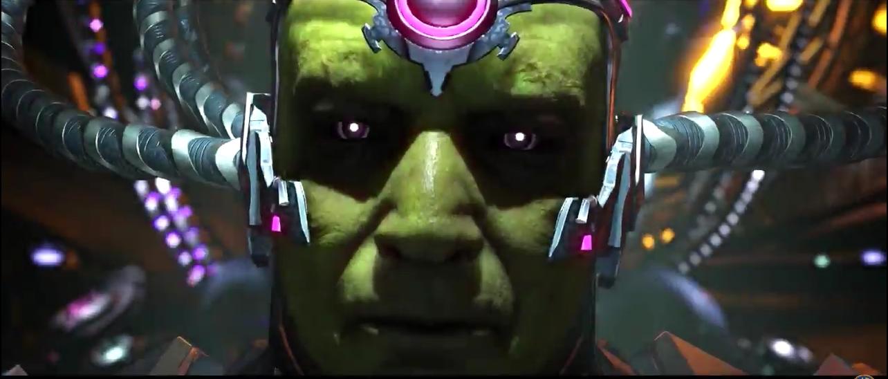 Injustice 2: veja Brainiac quebrando o pau e detalhes do enredo [vídeo]