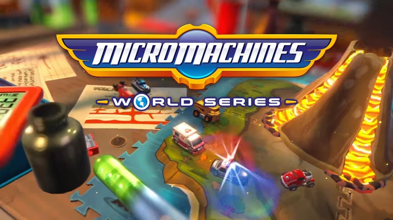 Micro Machines World Series ganha trailer mostrando corridas bem divertidas