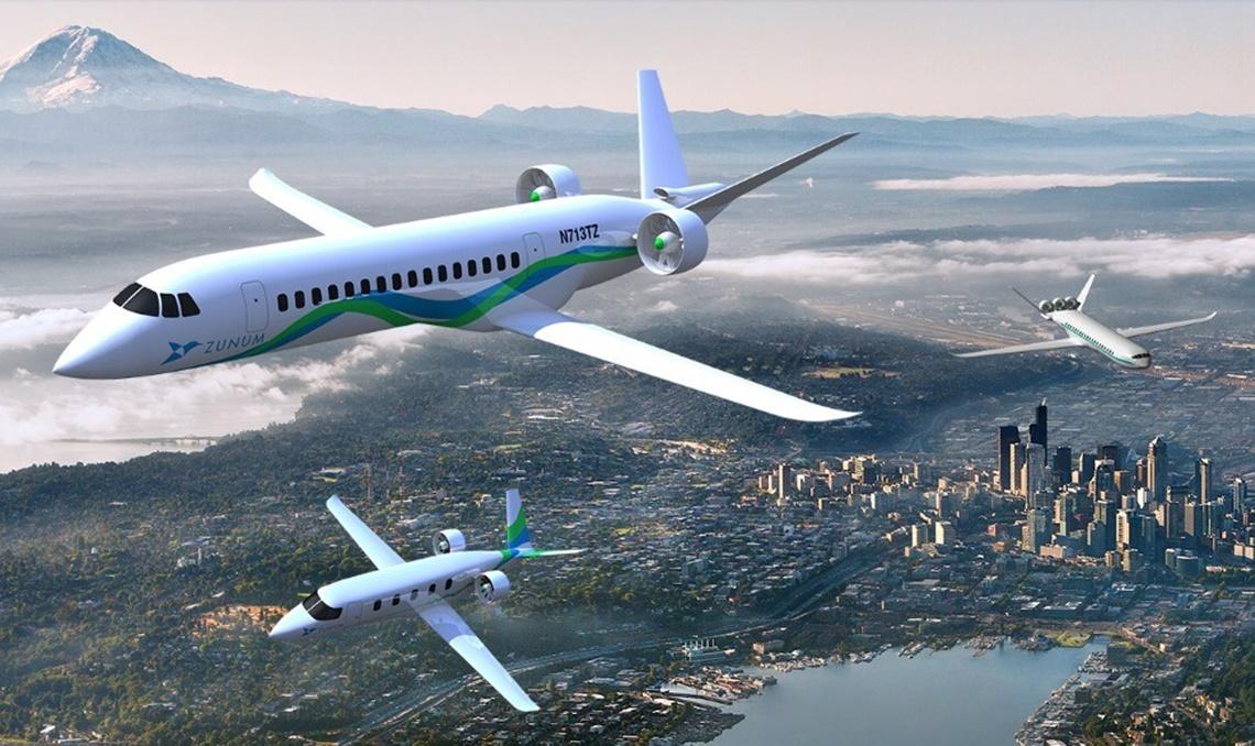 Boeing e JetBlue investem em avião híbrido com o objetivo de baratear voos
