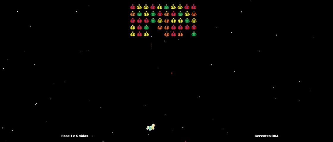 Acabe com a burocracia em releitura de Space Invaders feita pelo Banco Neon
