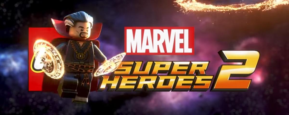 LEGO Marvel Super Heroes 2 é anunciado – e tem Baby Groot e Doutor Estranho