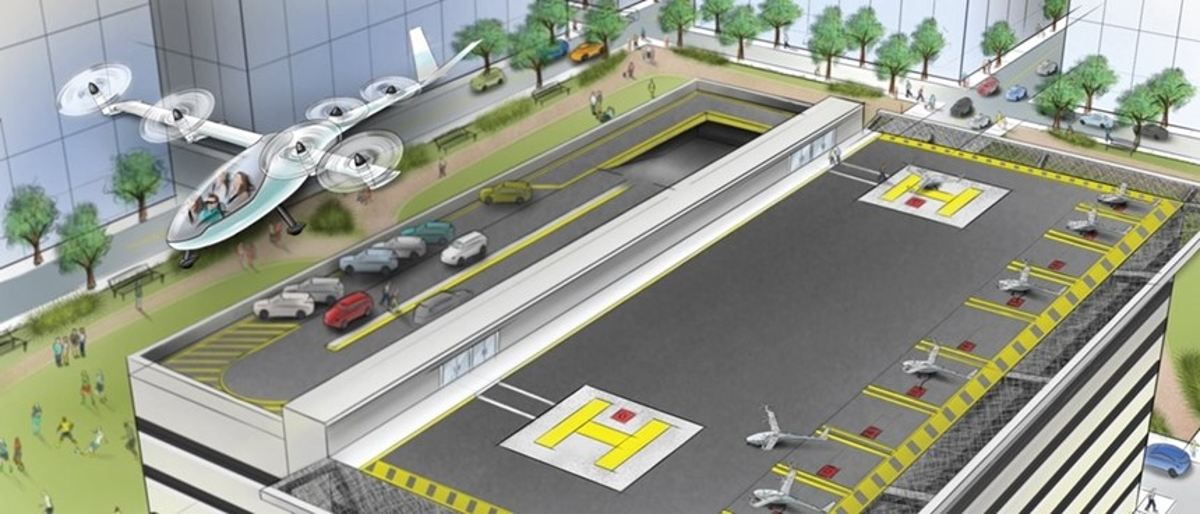 Uber se junta a Dallas e Dubai em projeto de carros voadores até 2020