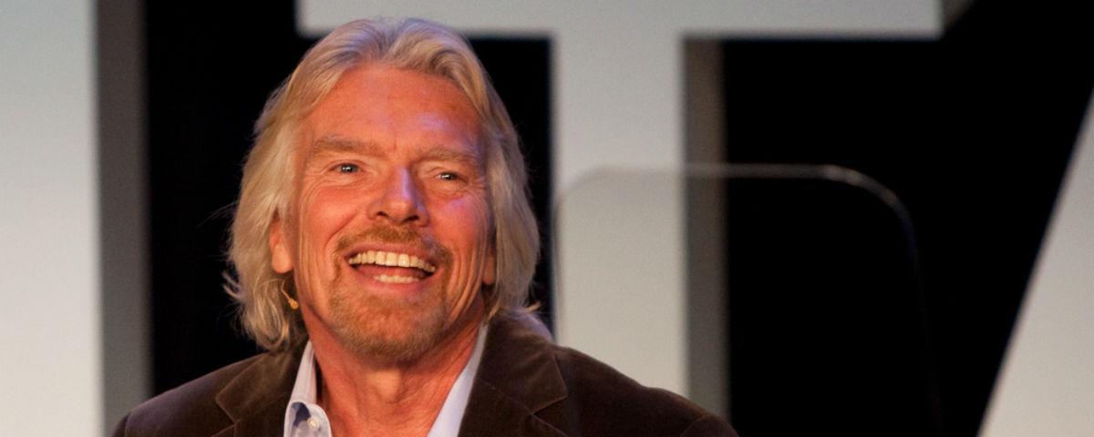 'O trabalho não pode ser um fardo', diz Richard Branson