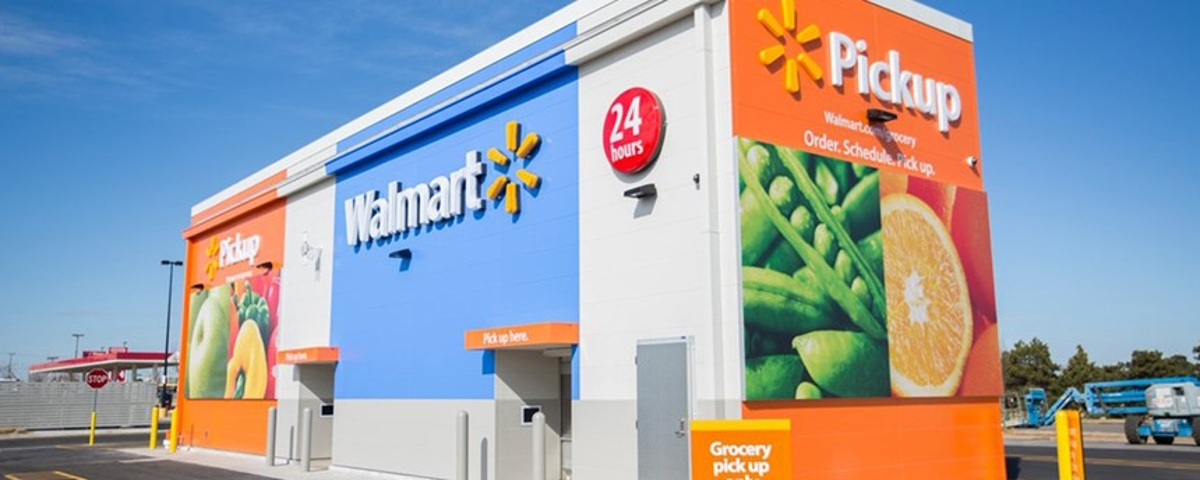 Walmart tenta peitar avanços da Amazon com projeto de retirada de compras
