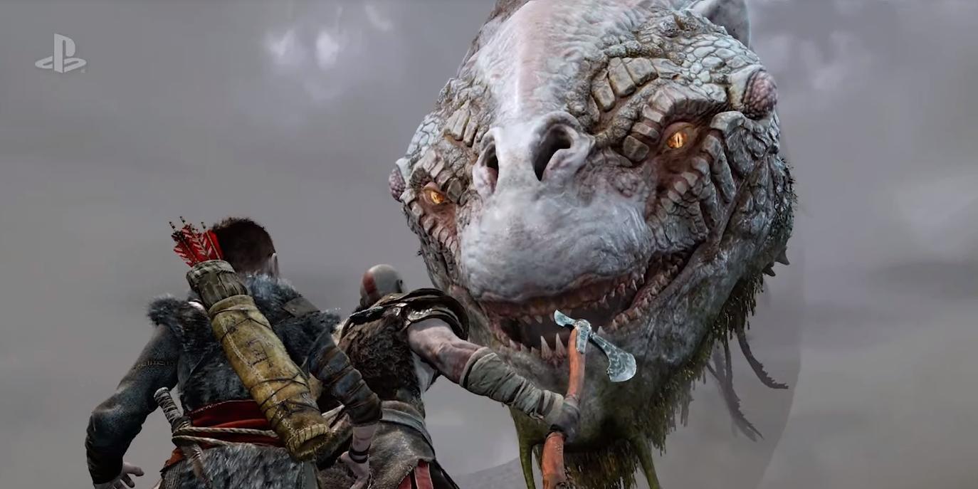 God of War ganha novo trailer de gameplay e chega no começo de 2018