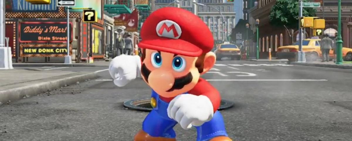Super Mario Odyssey é a aposta em algo totalmente novo para a série