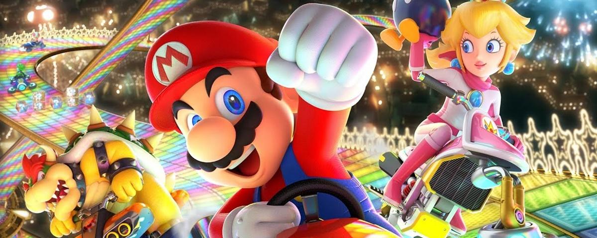 Só no Japão: fliperama VR tem versões épicas de Mario Kart e Dragon Ball