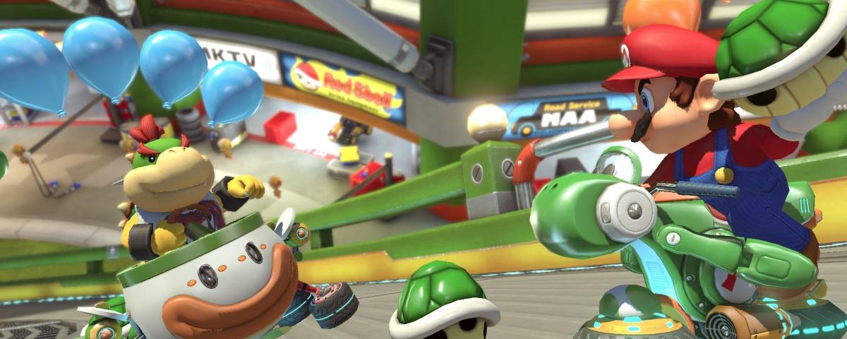 Patch diminui tempos de espera no lobby de Mario Kart 8 Deluxe
