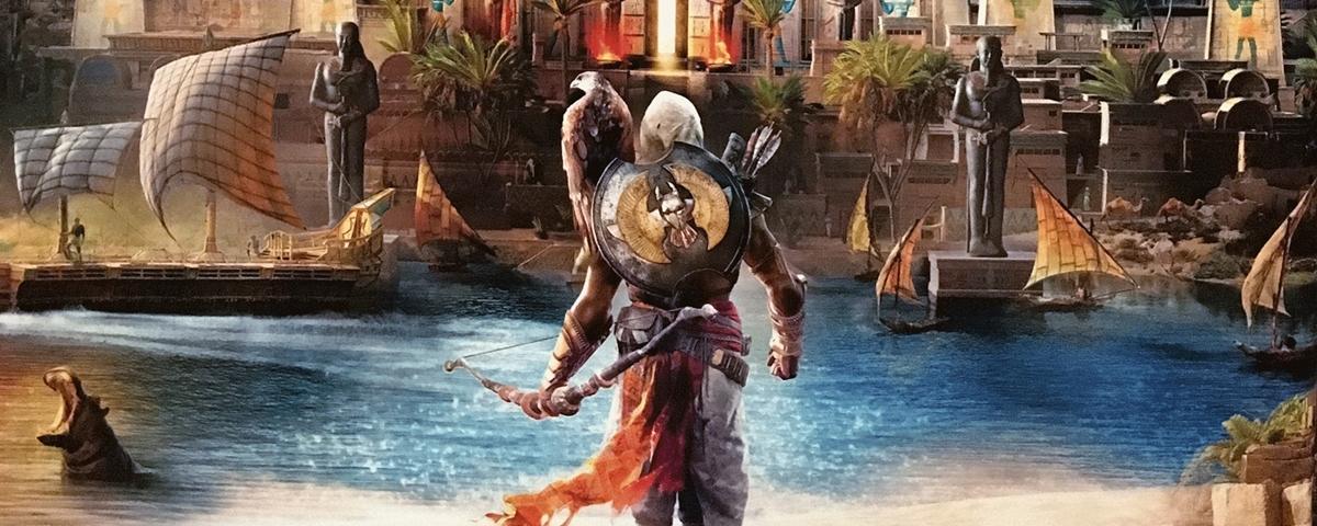 BGS 2017: produtor de Assassin's Creed Origins dá detalhes sobre o jogo