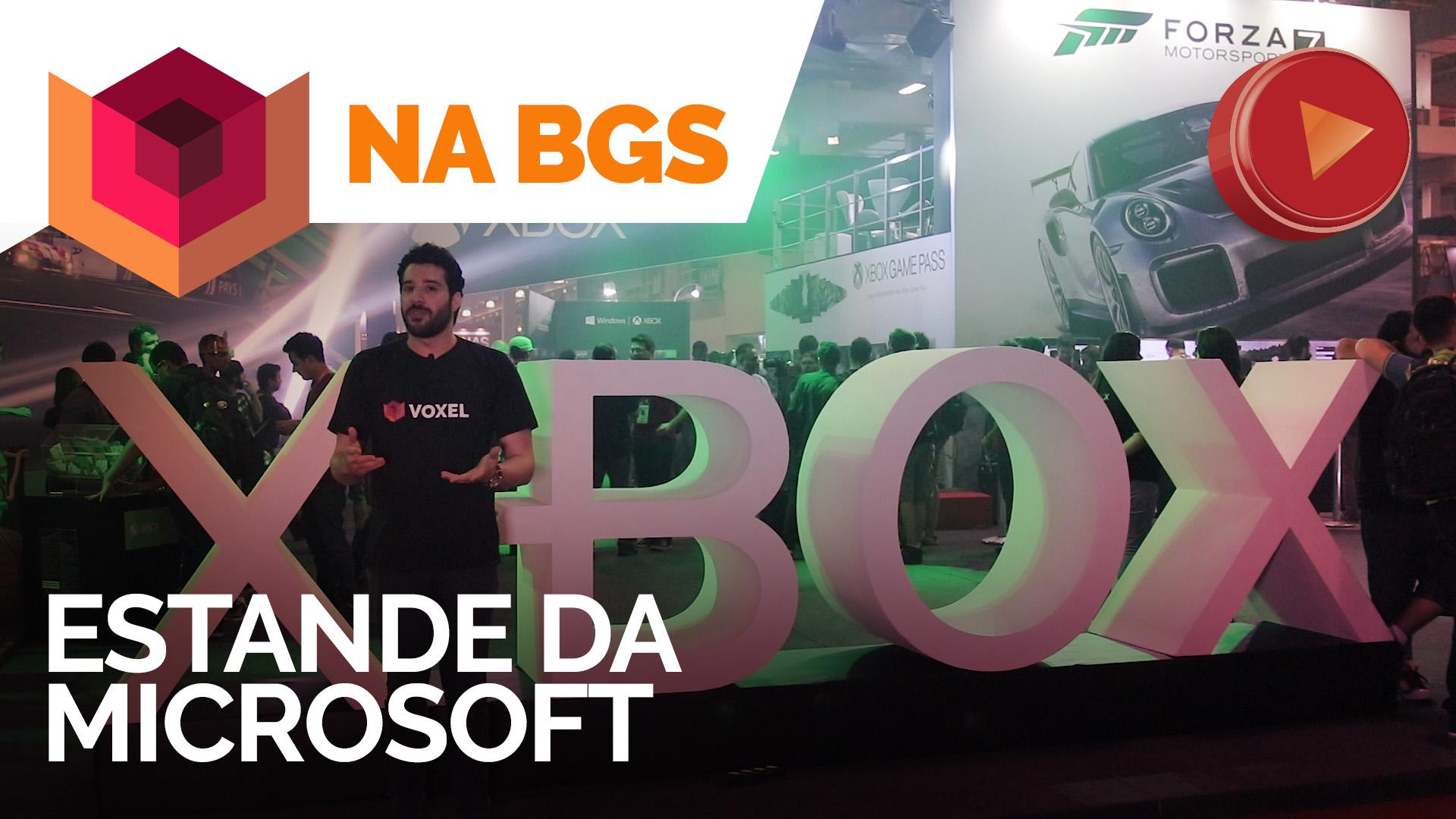 XBOX: Tour pelo estande [BGS 2017]
