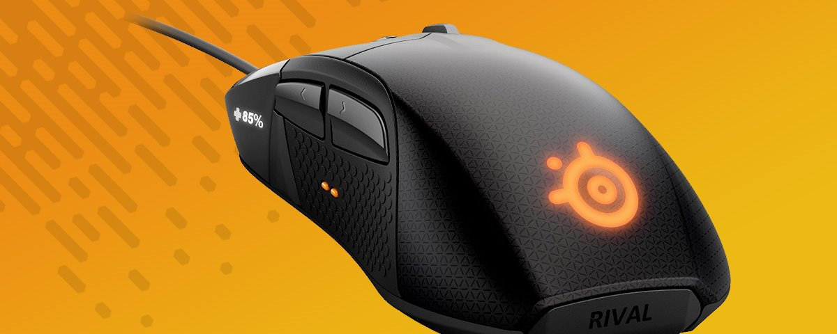 Mouse gamer SteelSeries Rival 700: review/análise