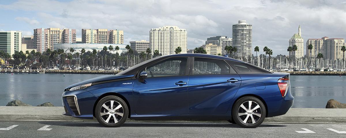 Tem Na Web - Toyota Mirai: conheça o carro elétrico movido a células de hidrogênio