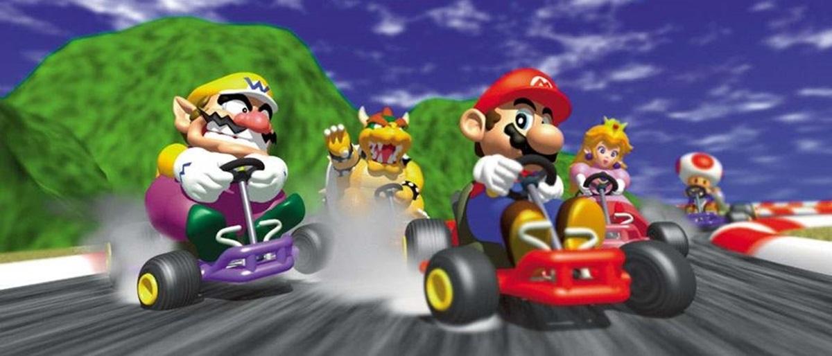 Tem Na Web - Há 18 anos, casal decide quem vai fazer chá em partidas de Mario Kart