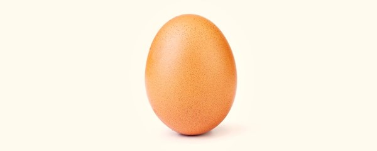 Tem Na Web - Um simples ovo é agora a foto mais curtida da história do Instagram