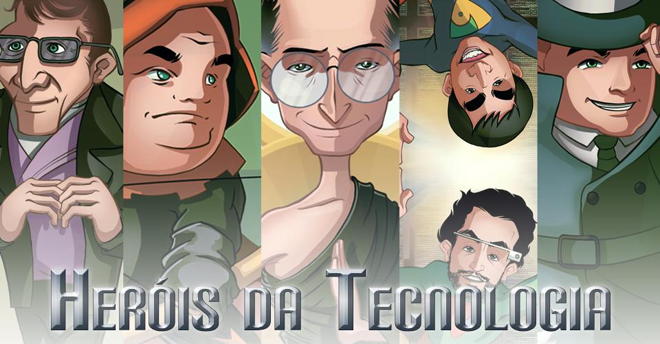 Erro 404: revelamos a identidade secreta dos heróis da tecnologia [ilustração]