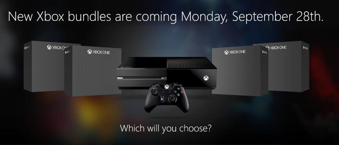Microsoft vai lançar um bundle do XOne por dia na próxima semana