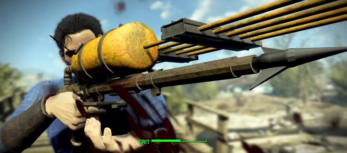 Capitão Ahab curtiu isso: modder descobre uma arma secreta em Fallout 4