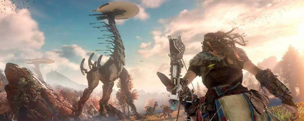 Horizon Zero Dawn: 4 novos trailers apresentam as feras mecânicas do game