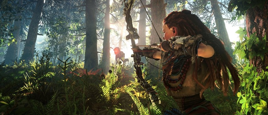 Vídeo mostra como Horizon: Zero Dawn se comporta no PS4 e no PS4 Pro