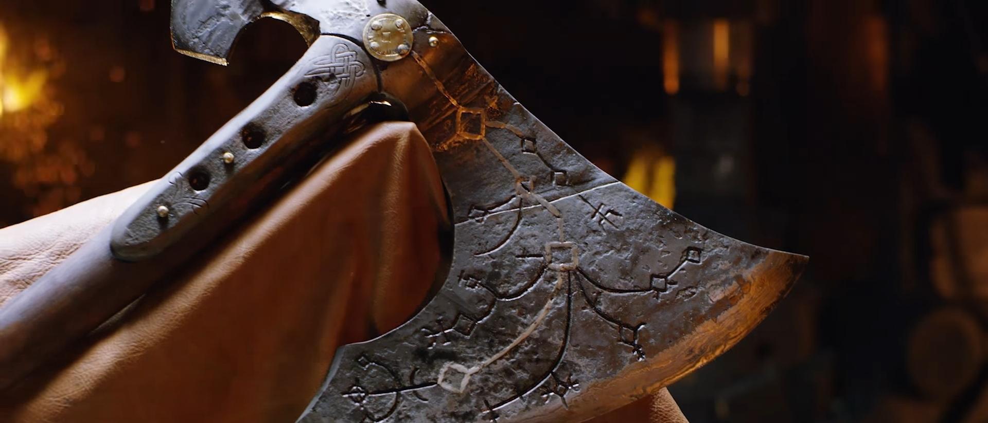 Machado de Kratos ganha vida pelas mãos do Man At Arms [vídeo]