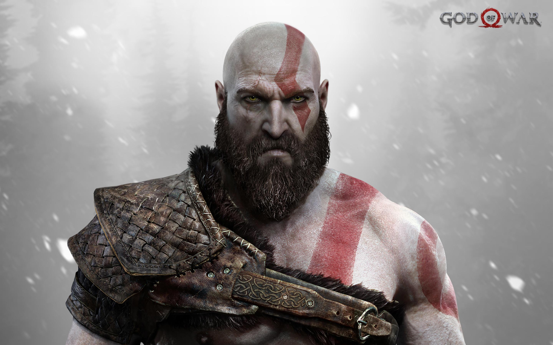 Há uma publicidade monstruosa de God of War sendo montada no local da E3