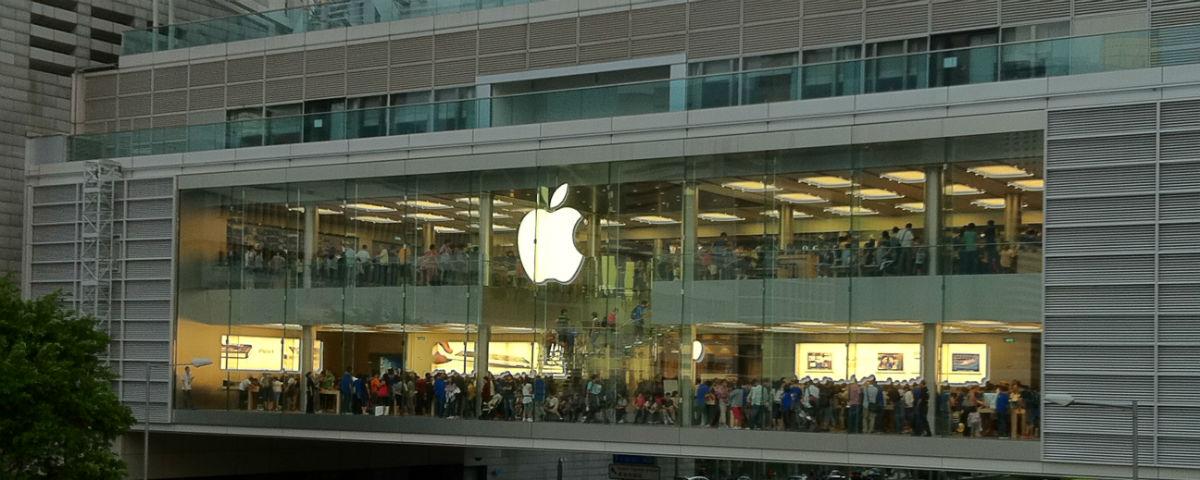 Em queda: ações da Apple caem com incertezas sobre iPhone 8
