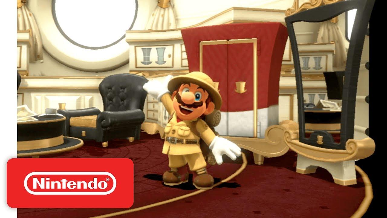 Gostou de Super Mario Odyssey? Veja 50 minutos do fantástico gameplay