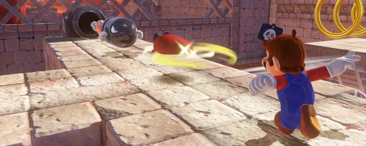 Super Mario Odyssey terá modo coop — e o Player 2 joga com o chapéu!