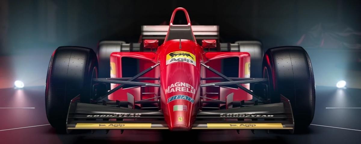 Codemasters revela os 4 clássicos da Ferrari que estarão em F1 2017 [video]