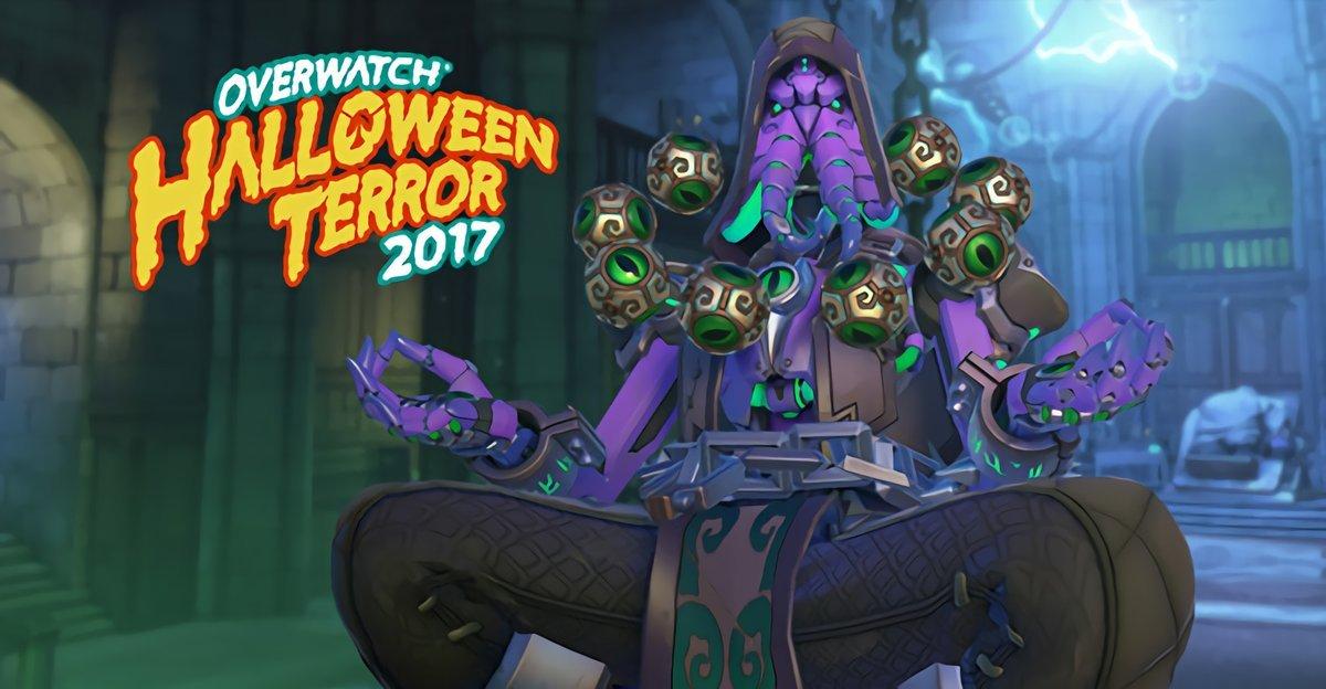 Skins de Halloween de Overwatch vazam e têm Zenyata Cthulhu e Mei Vampira