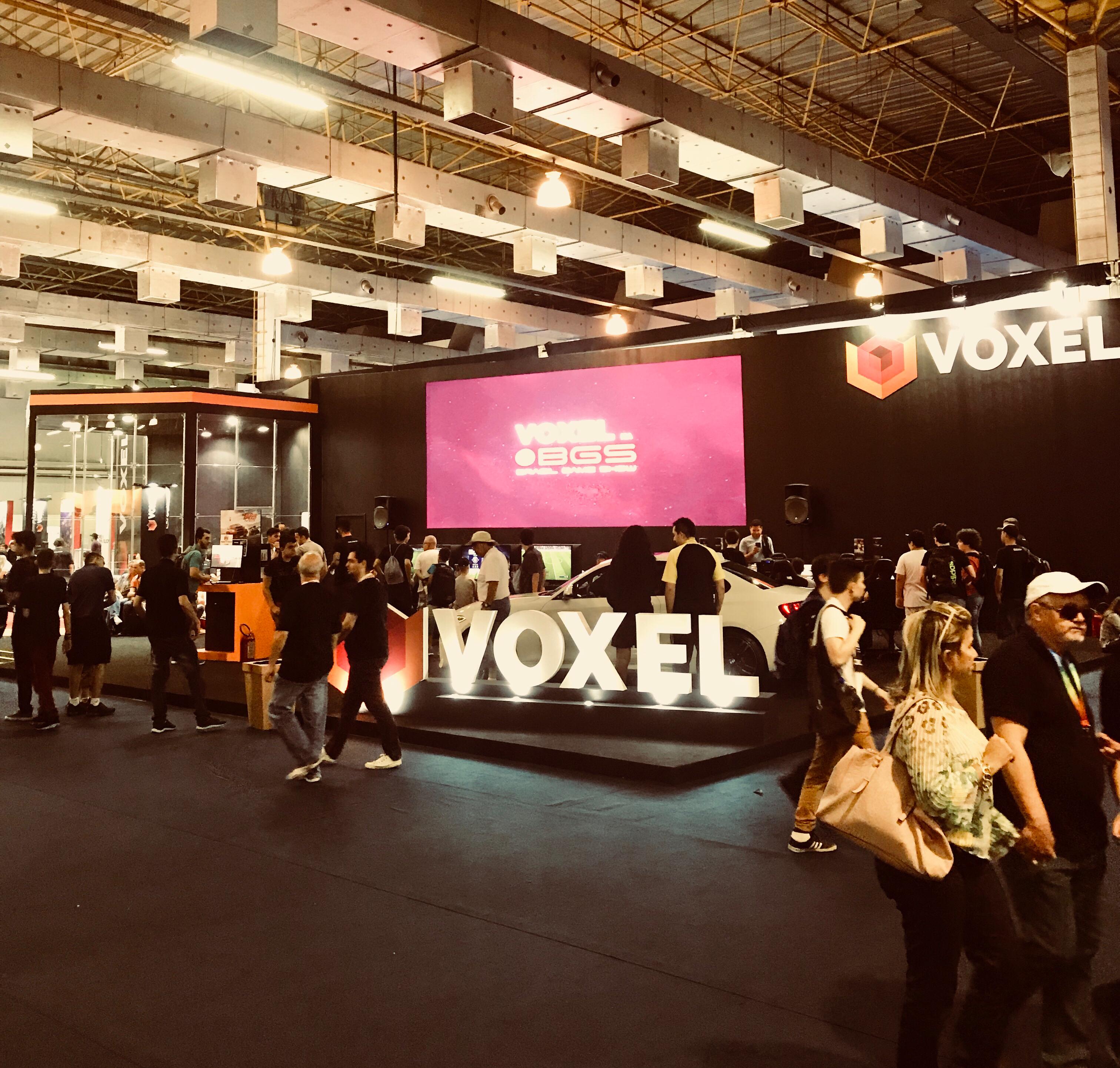 BGS 2017: venha ao estande do Voxel para jogar e tentar ganhar prêmios