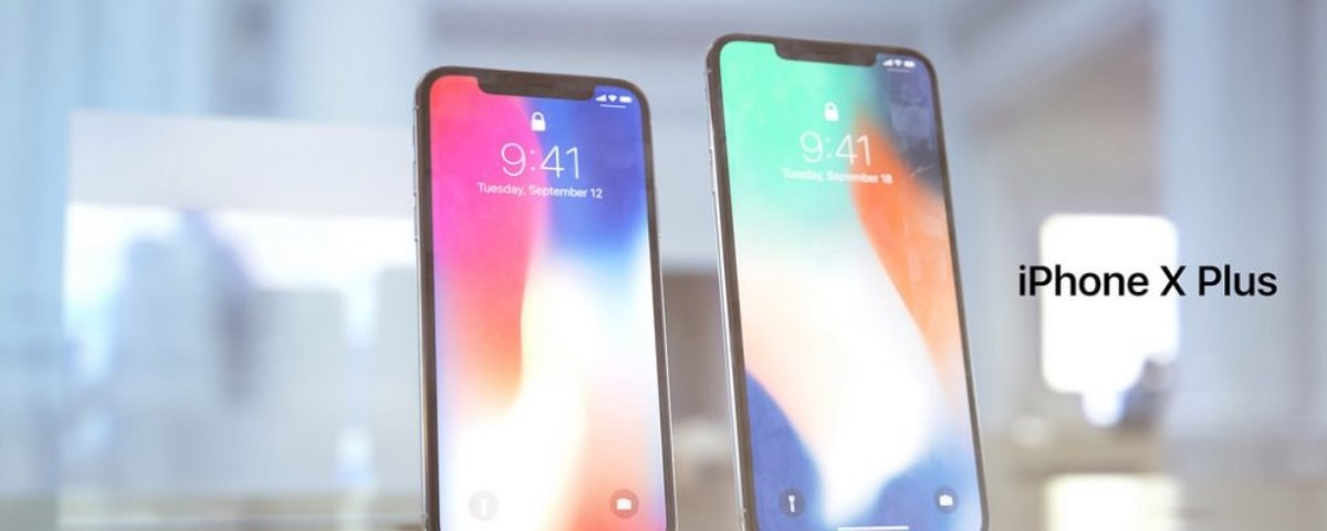 Conceito imagina iPhone X Plus gigantesco com 6,7 polegadas