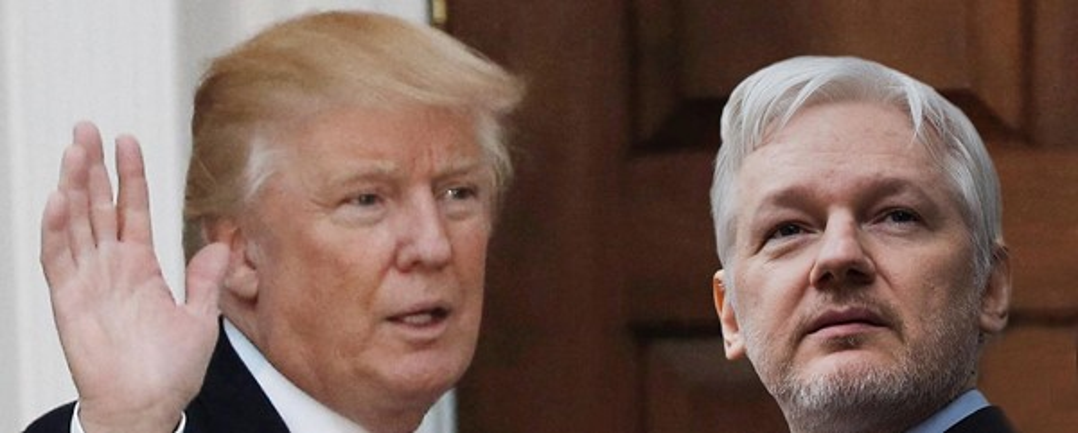Trump quer acabar com neutralidade da internet e Assange rebate no Twitter