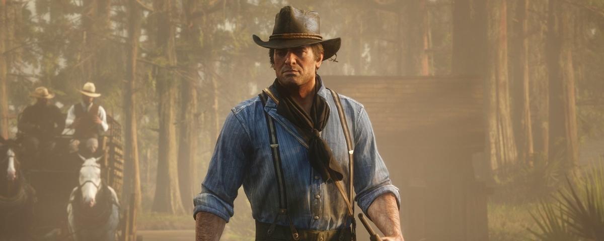 Tem Na Web - ?Fantasma? de Red Dead Redemption 2 assombra cidade no interior do Paraná