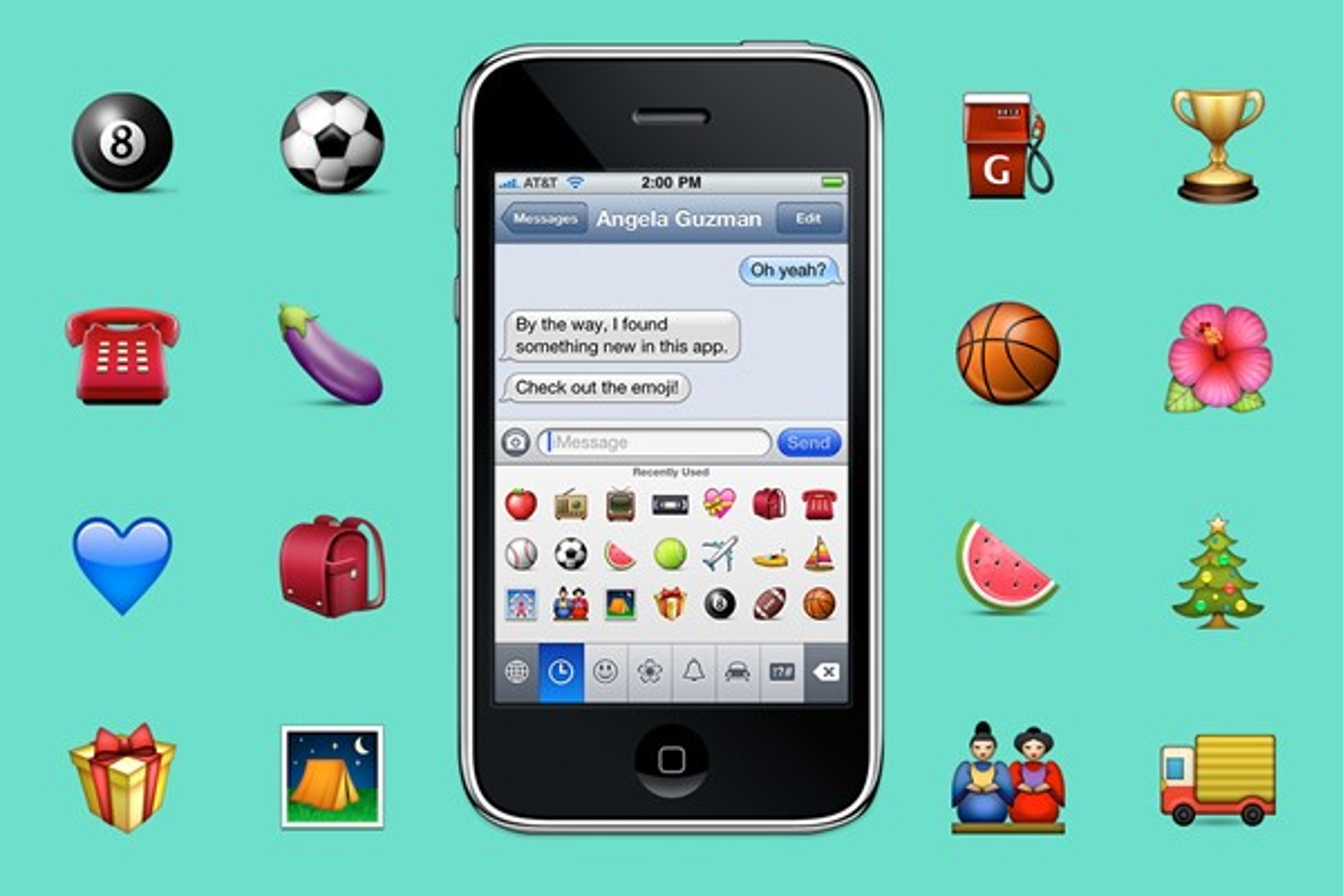Tem Na Web - Há 10 anos, os emojis surgiam nos smartphones