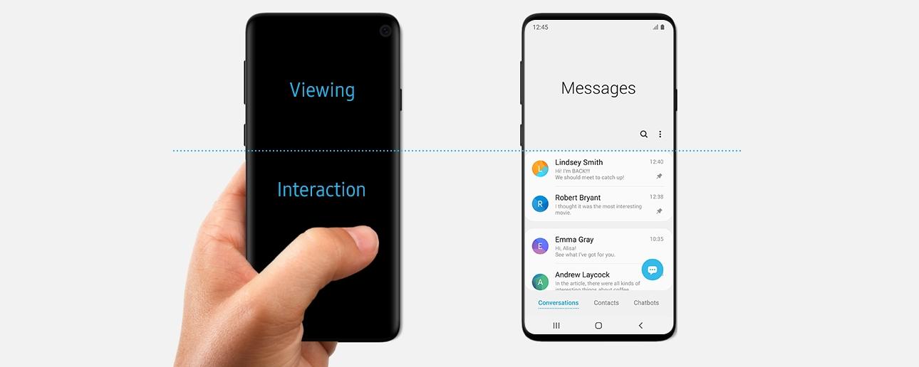 Tem Na Web - Samsung pode ter revelado ?sem querer? o visual do Galaxy S10