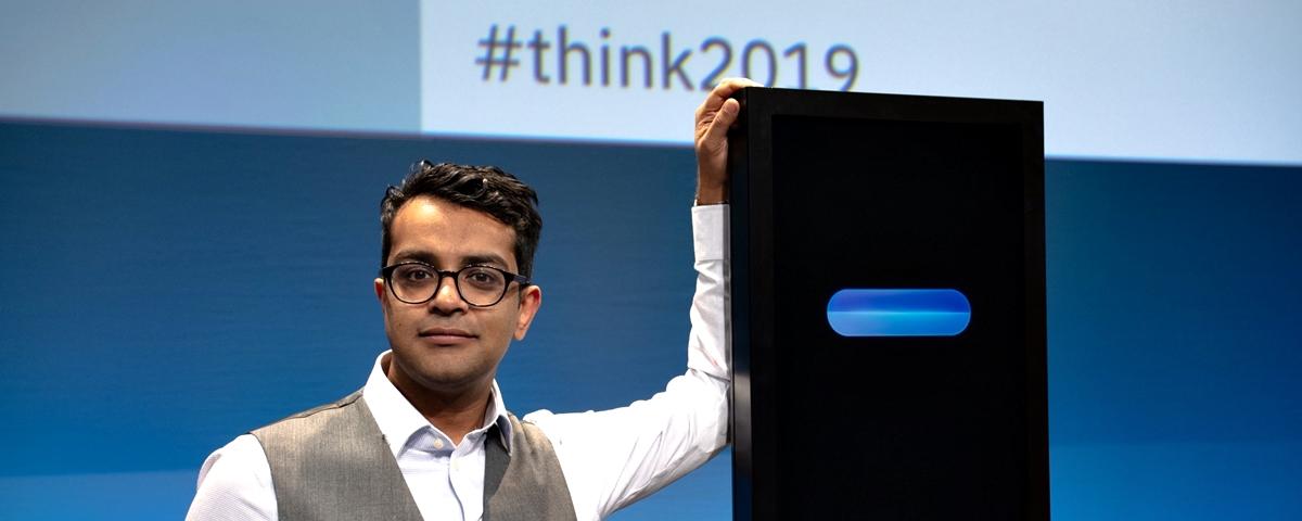 Tem Na Web - Homem x Máquina: jovem indiano vence IA da IBM em competição de debate