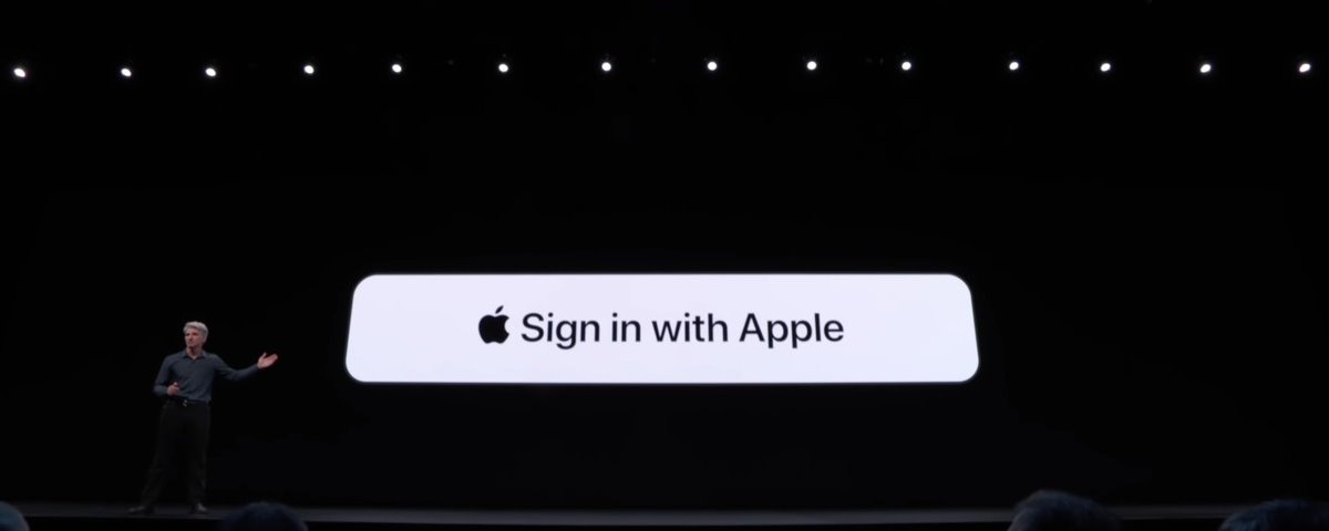 Sign in with Apple': diferença sobre os botões Google, Facebook e Twitter