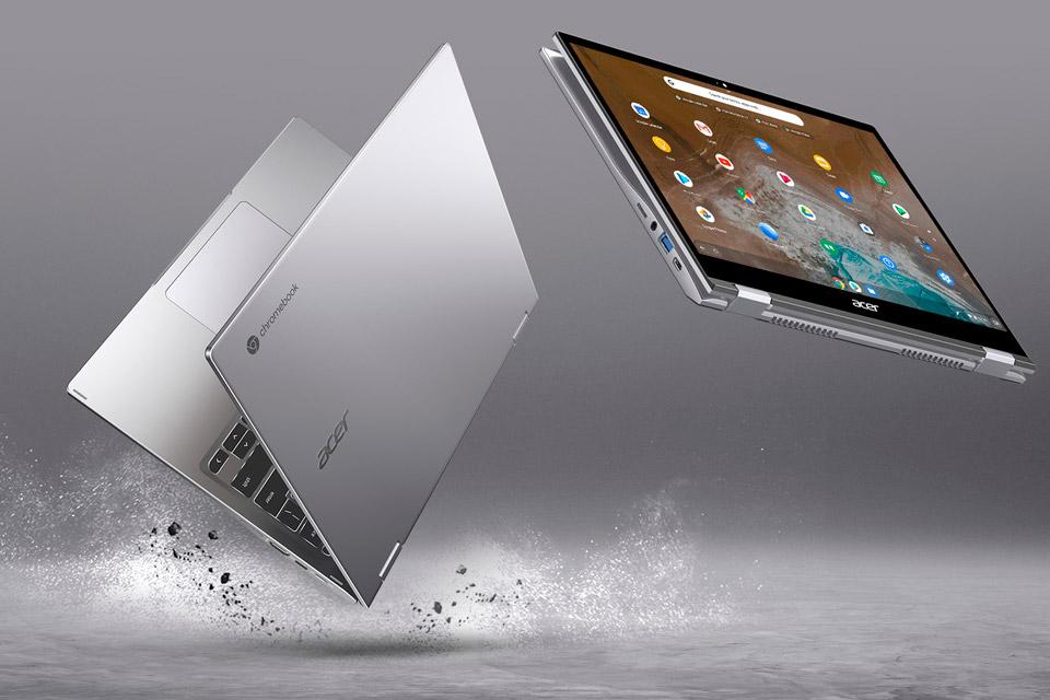 Acer apresenta o Chromebook Spin 713, baseado no Projeto Athena