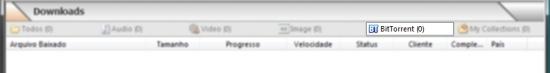 Um cliente torrent integrado para agilizar os seus downloads.