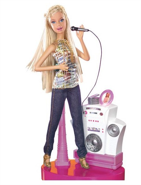 A Barbie que canta e fala