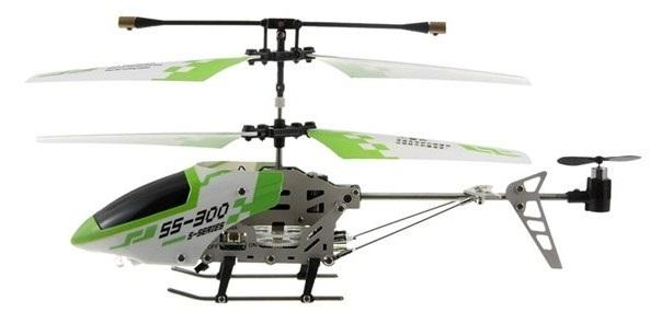 Helicóptero com vôo suave