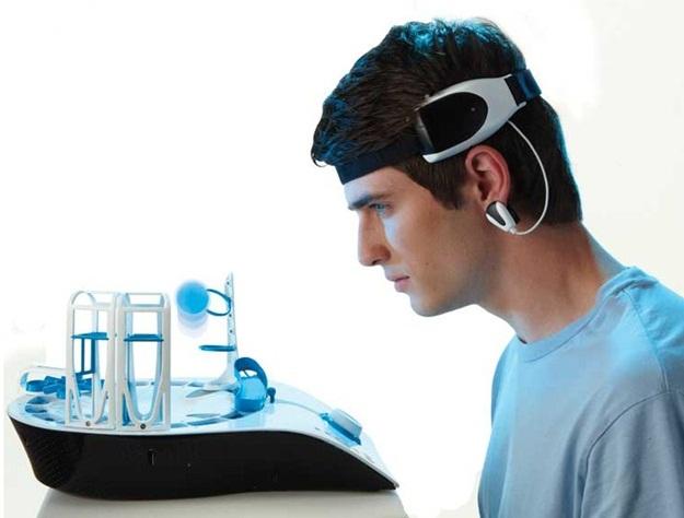 Controle a bolinha com as suas ondas cerebrais