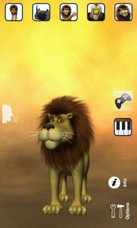 Talking Luis Lion - Imagem 1 do software