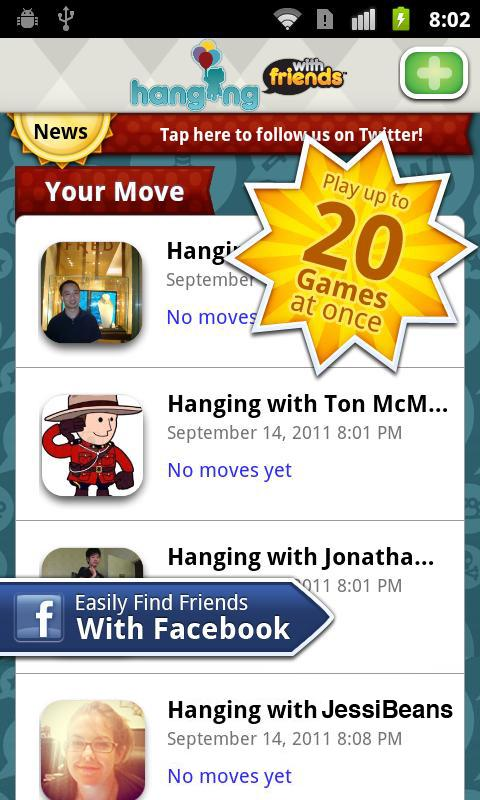 Hanging With Friends - Imagem 3 do software
