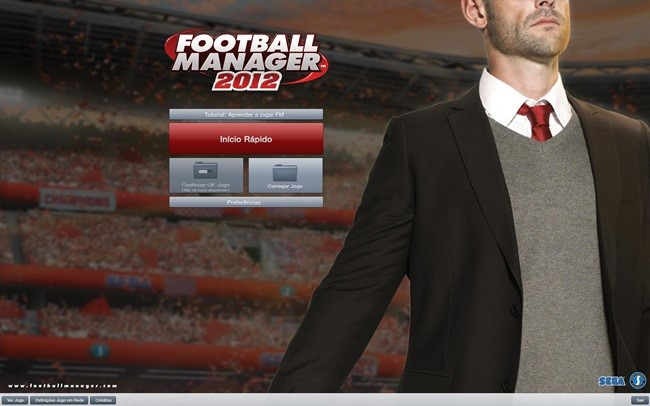 Football Manager 2012.