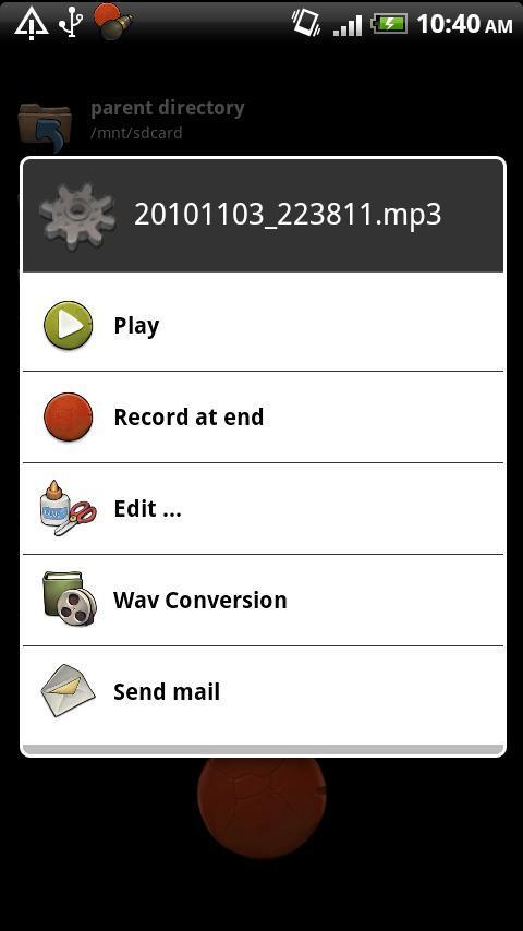 RecForge Lite - Audio Recorder - Imagem 2 do software